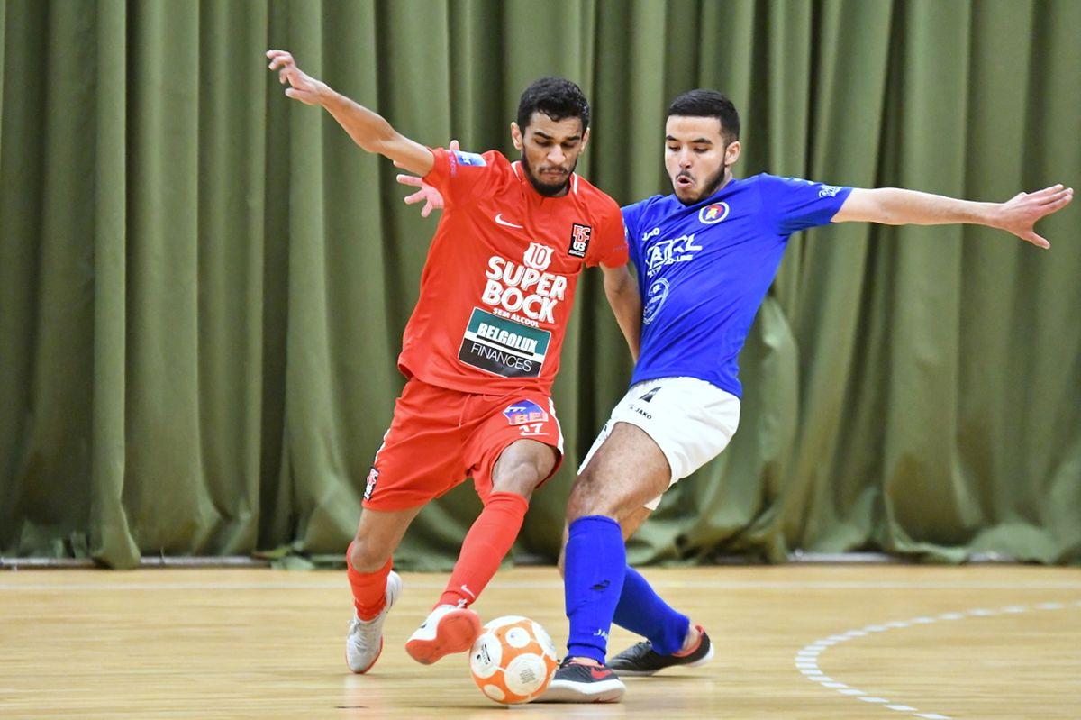 Le duel entre le FCD03 de Ruben Reis et l'AS Sparta Dudelange de Kamal el Majdoub a tenu ses promesses.