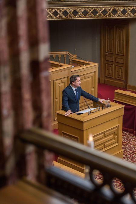 Premier Bettel versicherte, dass die Grenzen nicht geschlossen werden.