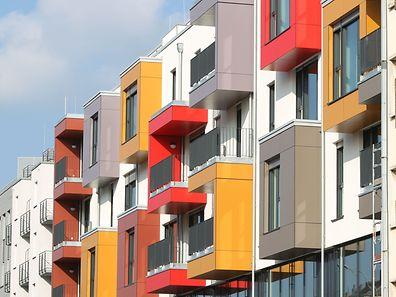 Die mit Abstand höchsten Preise für Apartments sind erwartungsgemäß im Kanton Luxemburg zu zahlen.