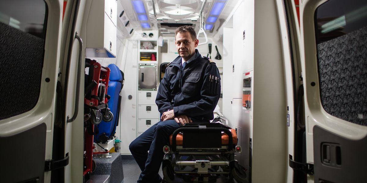Seit zweieinhalb Jahren ist Patrick Holcher Chef des Einsatzzentrums in Mertert.