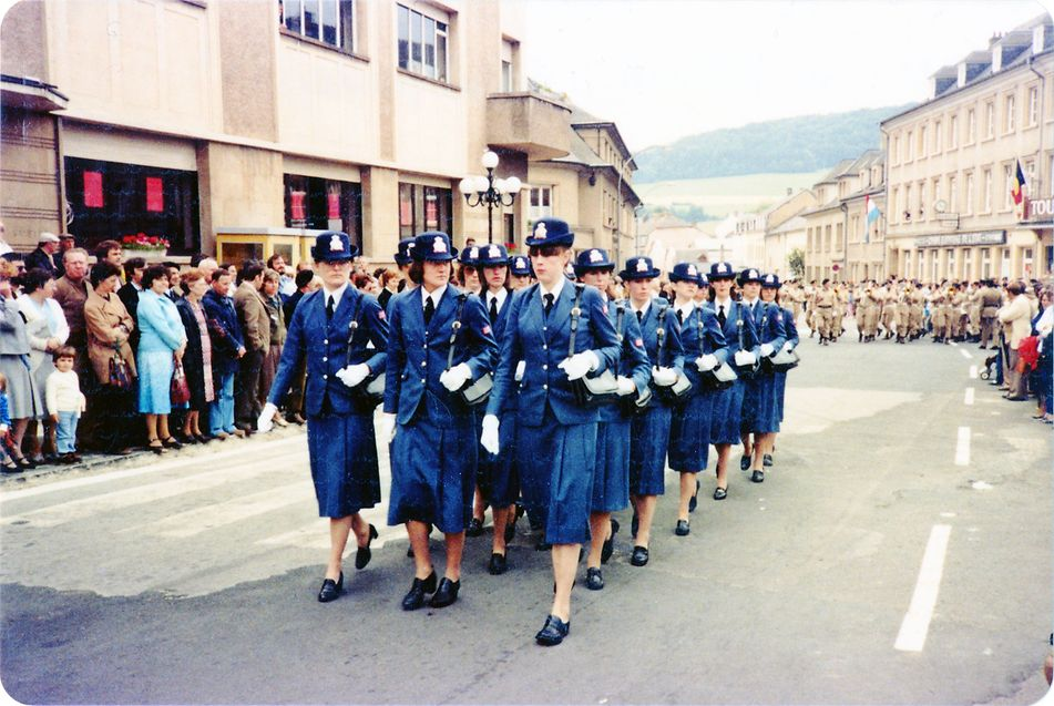 Militärparade in Diekirch