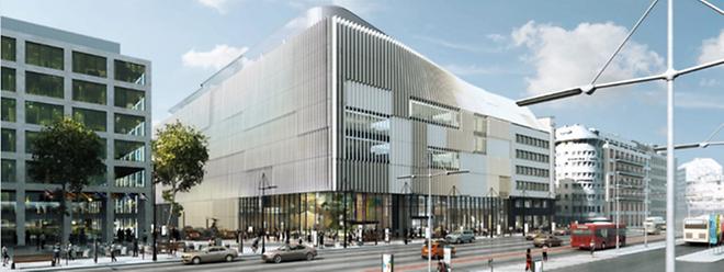 Post Luxembourg consacrera 60 millions d'euros pour cette construction en plein cœur de capitale.