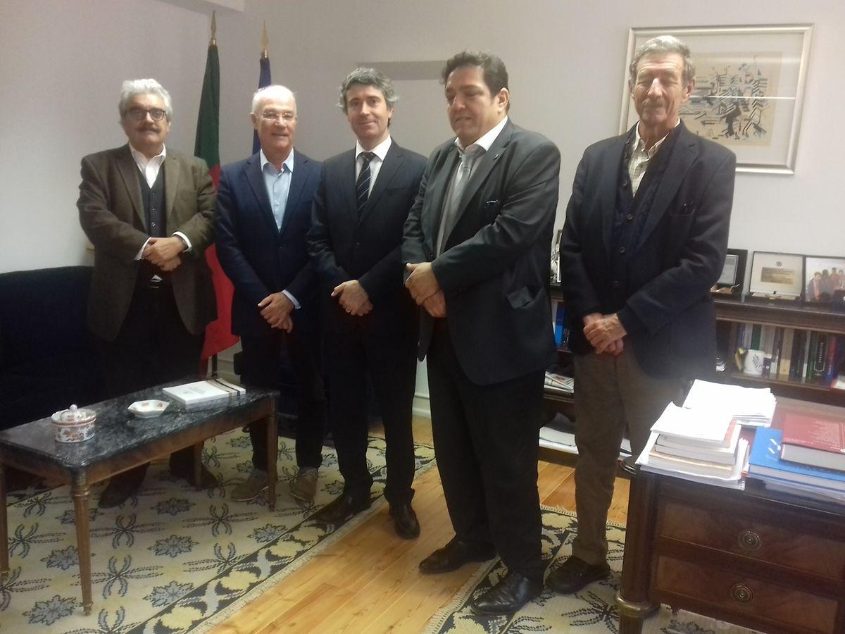 O encontro teve lugar esta manhã, em Lisboa.