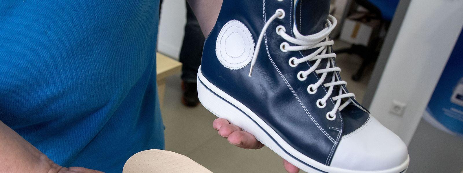 Orthopädische Einlagen passen mittlerweile in fast jeden Schuh.
