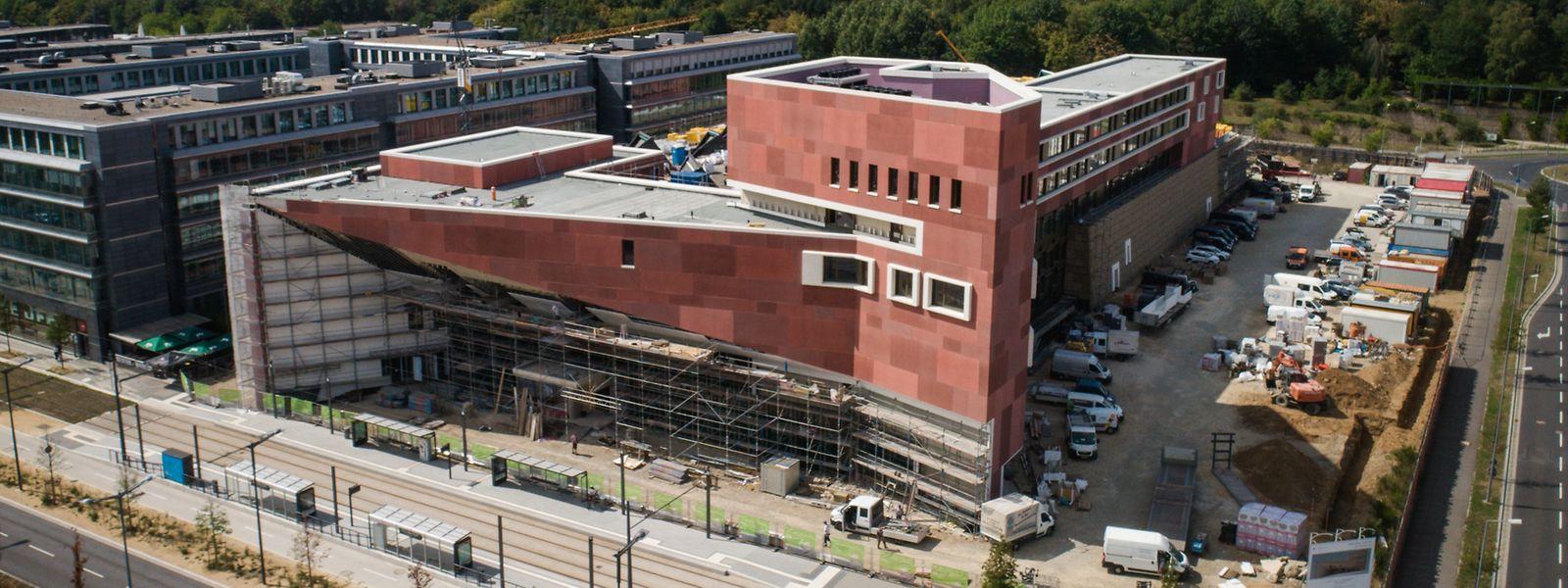 Die Nationalbibliothek wird ab Oktober für die Öffentlichkeit zugänglich sein.