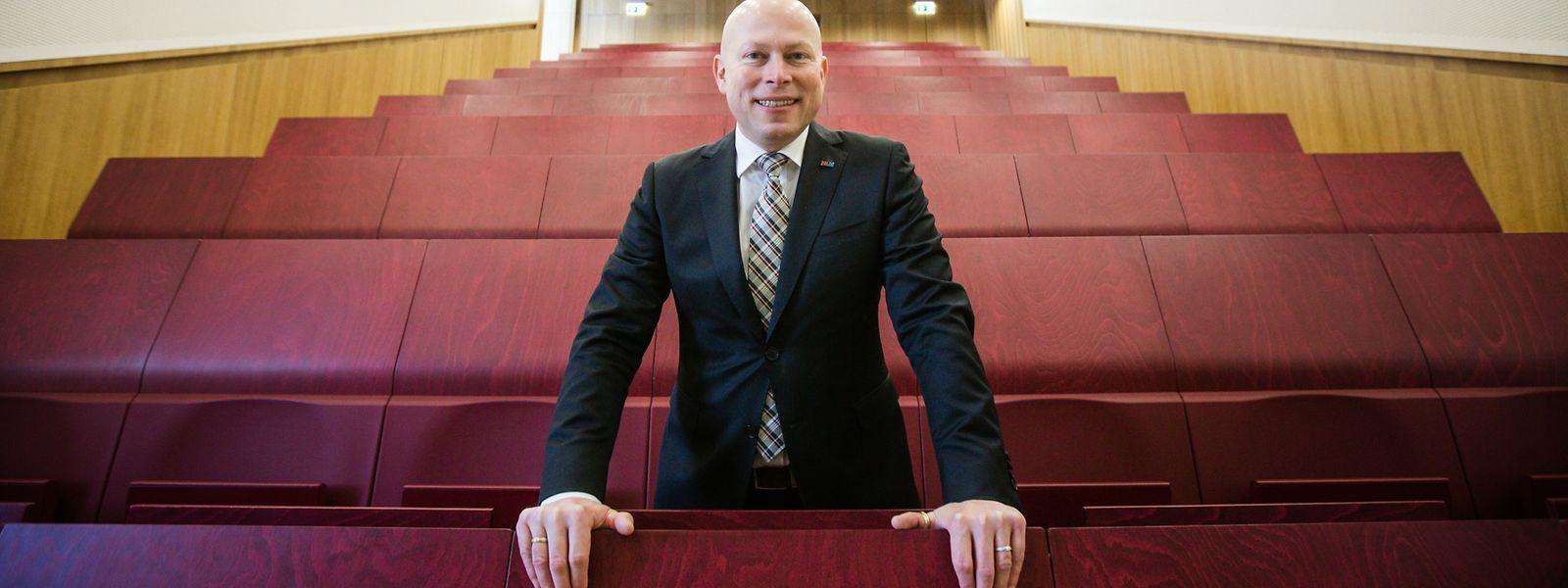 Stephane Pallage, seit Januar der neue Rektor der Uni Luxemburg.