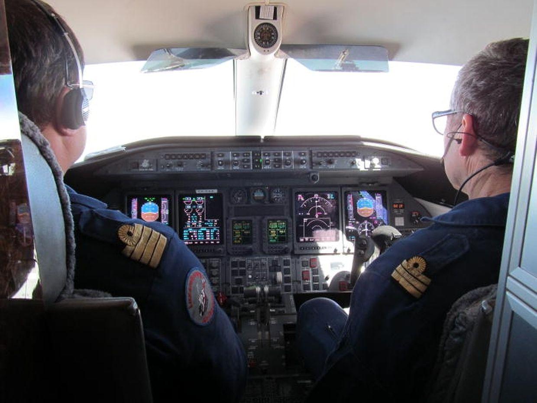À hora marcada, às 11h45, o avião da Luxembourg Air Rescue levantou voo rumo a Cabo Verde