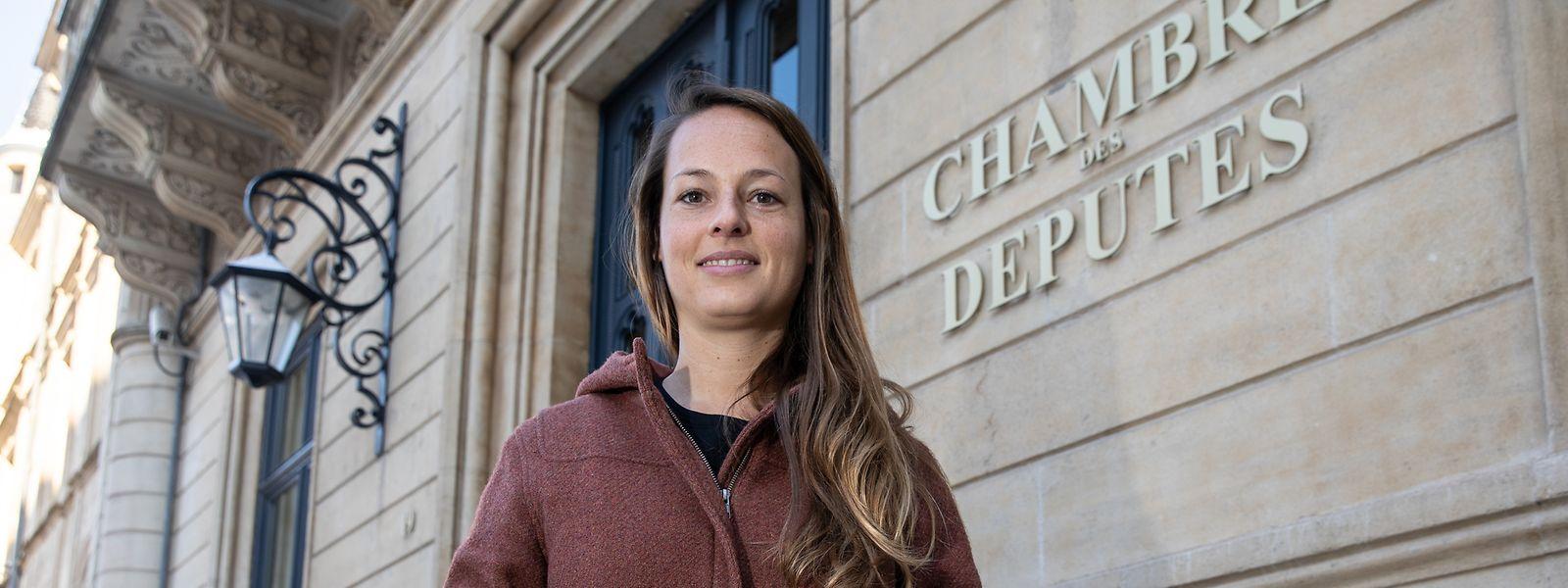 Chantal Gary ist seit Oktober 2019 Mitglied des Parlaments.