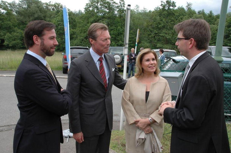 Roger Nilles, Direktor der Stiftung, begrüßte die großgerzogliche Familie.