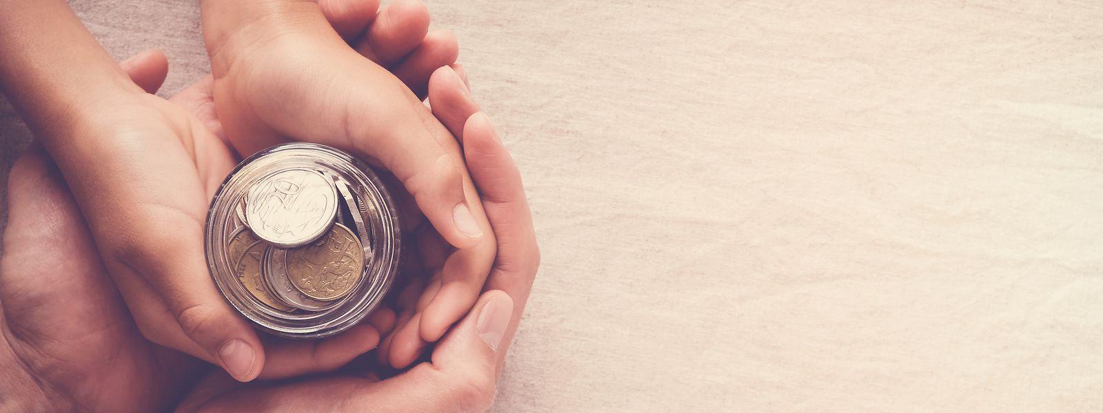 Viele Menschen wollen angesichts der aktuellen Situation Geld in sinnvolle Projekte einbringen.