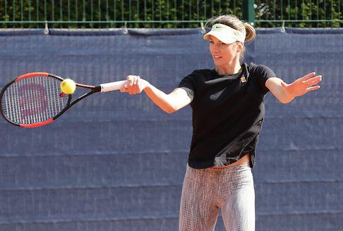 Tennisspielerin Minella will im April wieder aufschlagen
