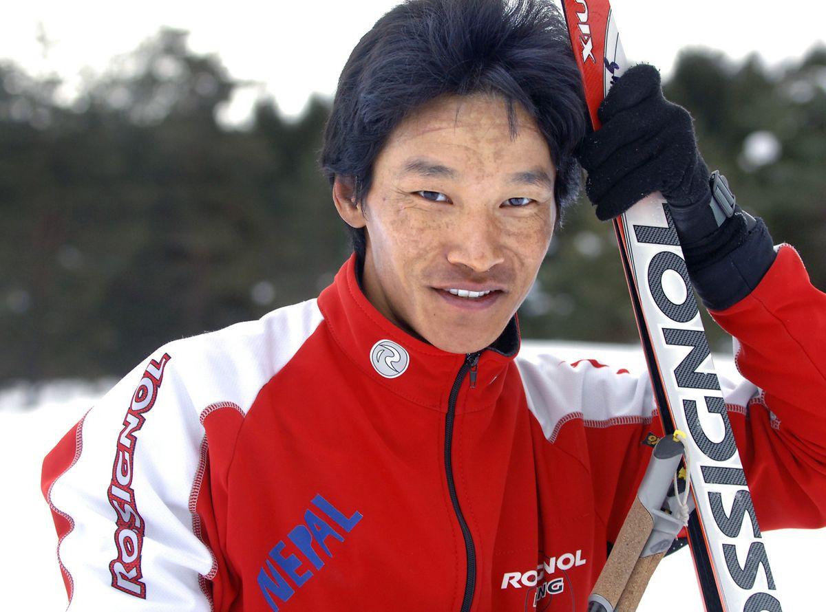 Dachhiri Sherpa nimmt an drei Olympischen Winterspielen teil.