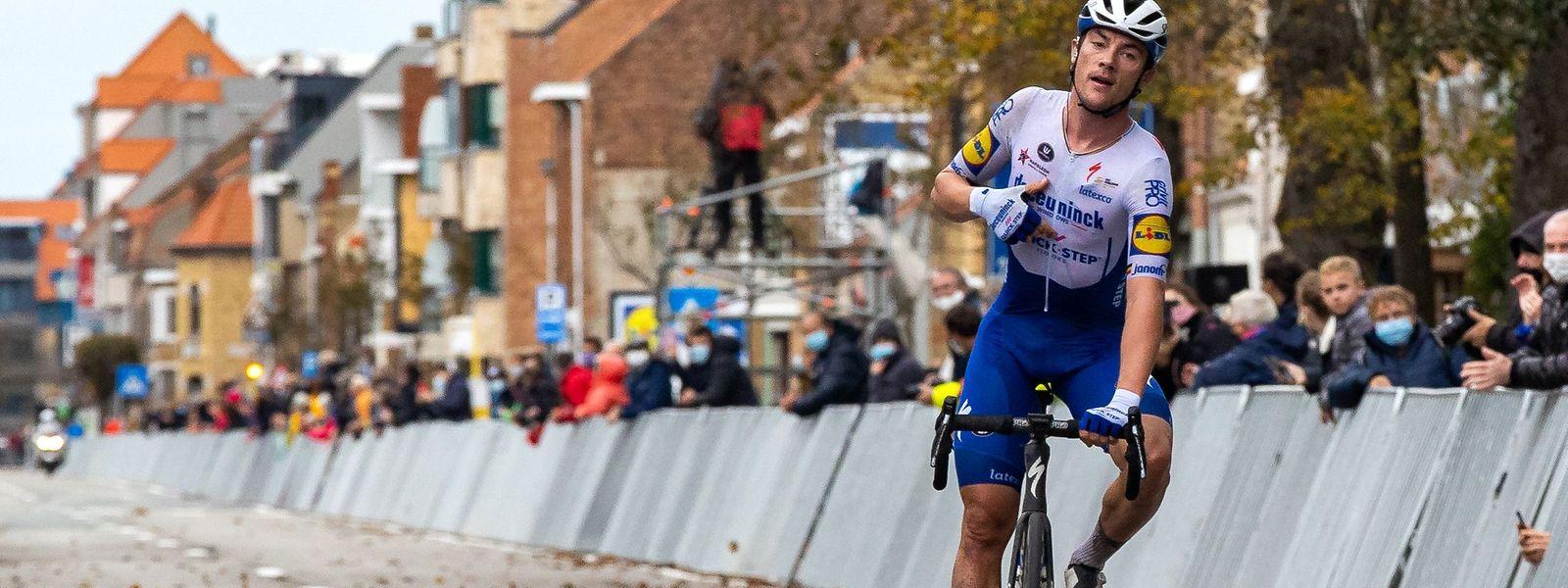 Yves Lampaert a offert à l'équipe Deceuninck-Quick-Step sa 38e victoire de la saison.