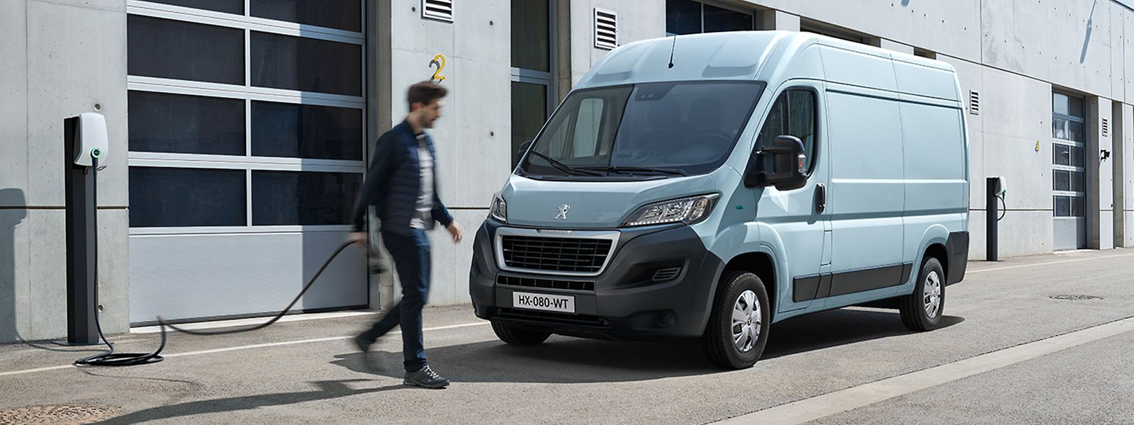 Elektro-Transporter wie der Peugeot e-Boxer sind weiter auf dem Vormarsch.
