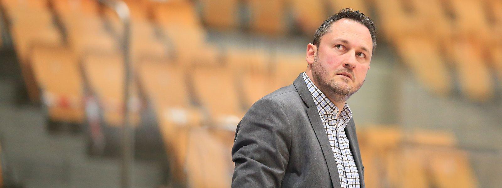 Etzella-Trainer Kresimir Basic hat mit seinem Team berechtigte Chancen auf den Meistertitel.