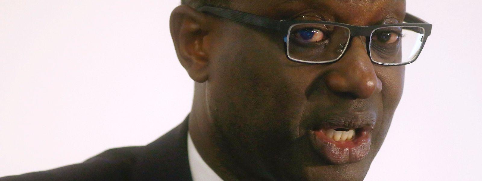 Tidjane Thiam avait pris la tête de la banque en 2015.