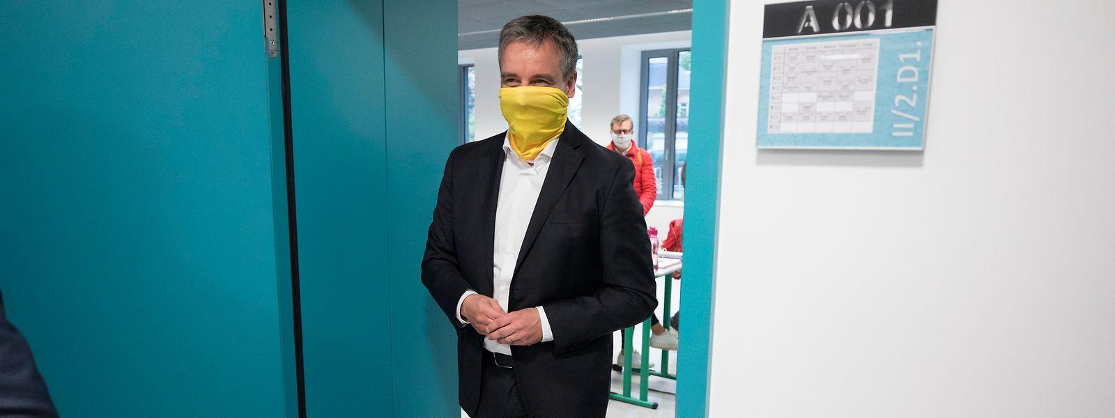 La loi luxembourgeoise ne permet pas actuellement à un lycée d'organiser un programme d'études de bachelor en soins infirmiers généraux ou spécialisés, rappelle Claude Meisch (DP), ministre de l'Education nationale.