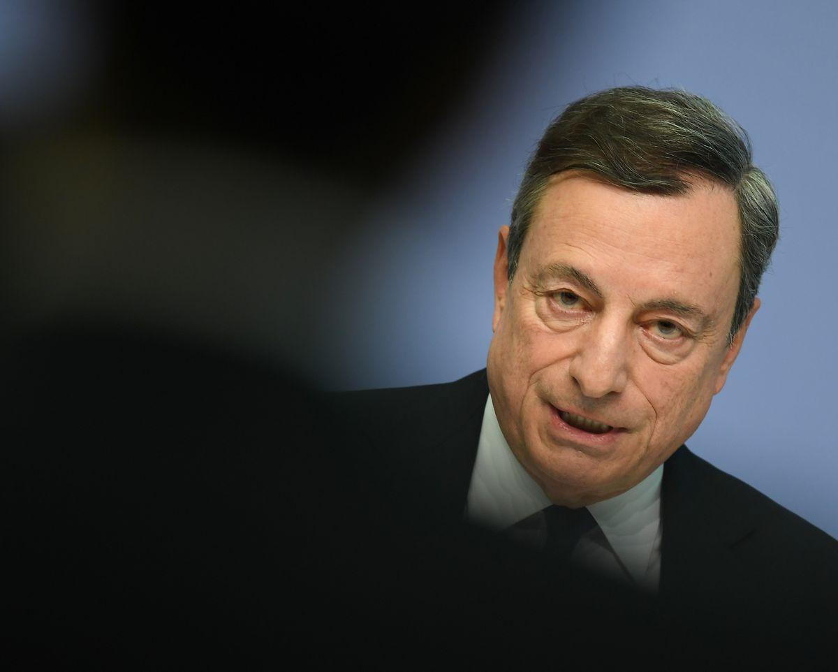 Mario Draghi, Präsident der Europäischen Zentralbank.