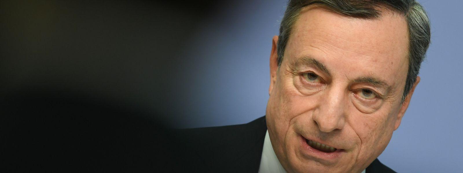 Mario Draghi spricht sich für eine engere Zusammenarbeit im Euro-Raum aus.