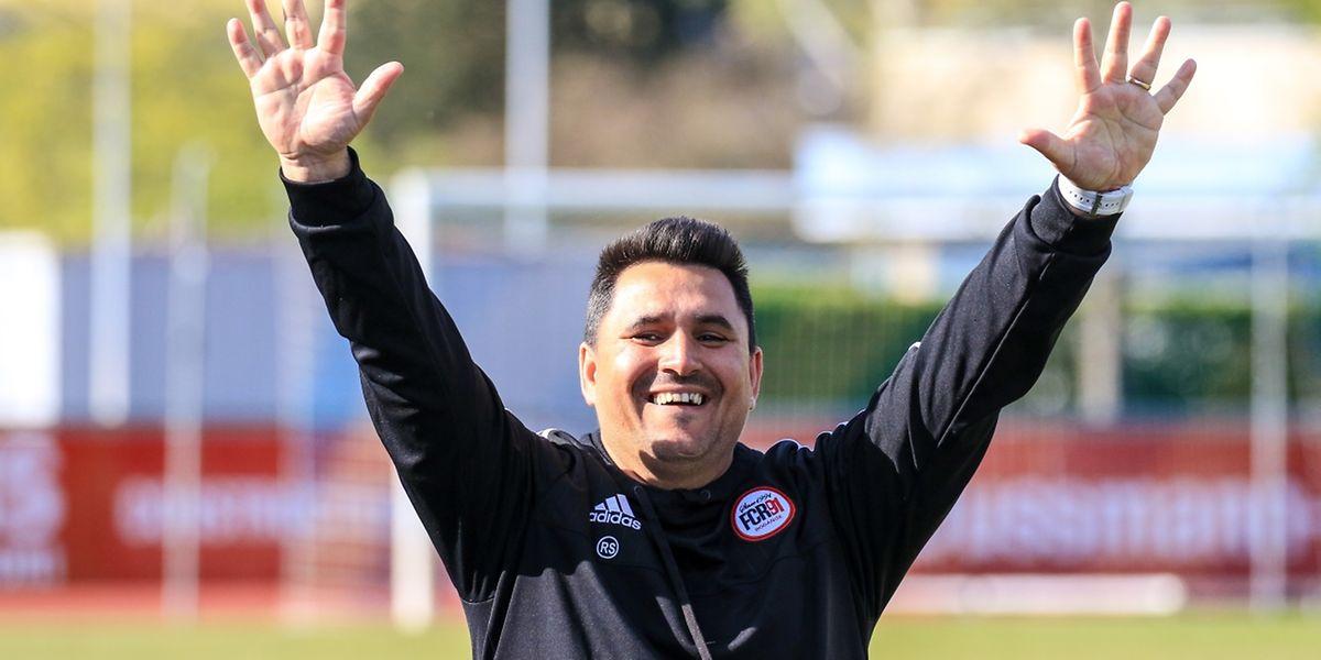 O treinador lusodescendente, Seraphin Ribeiro