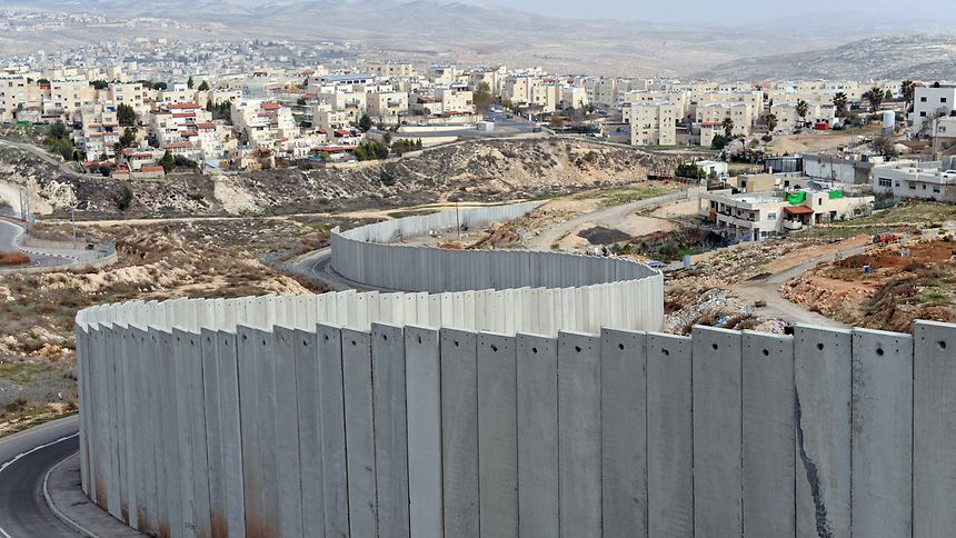 The Israel - Palestine separation wall