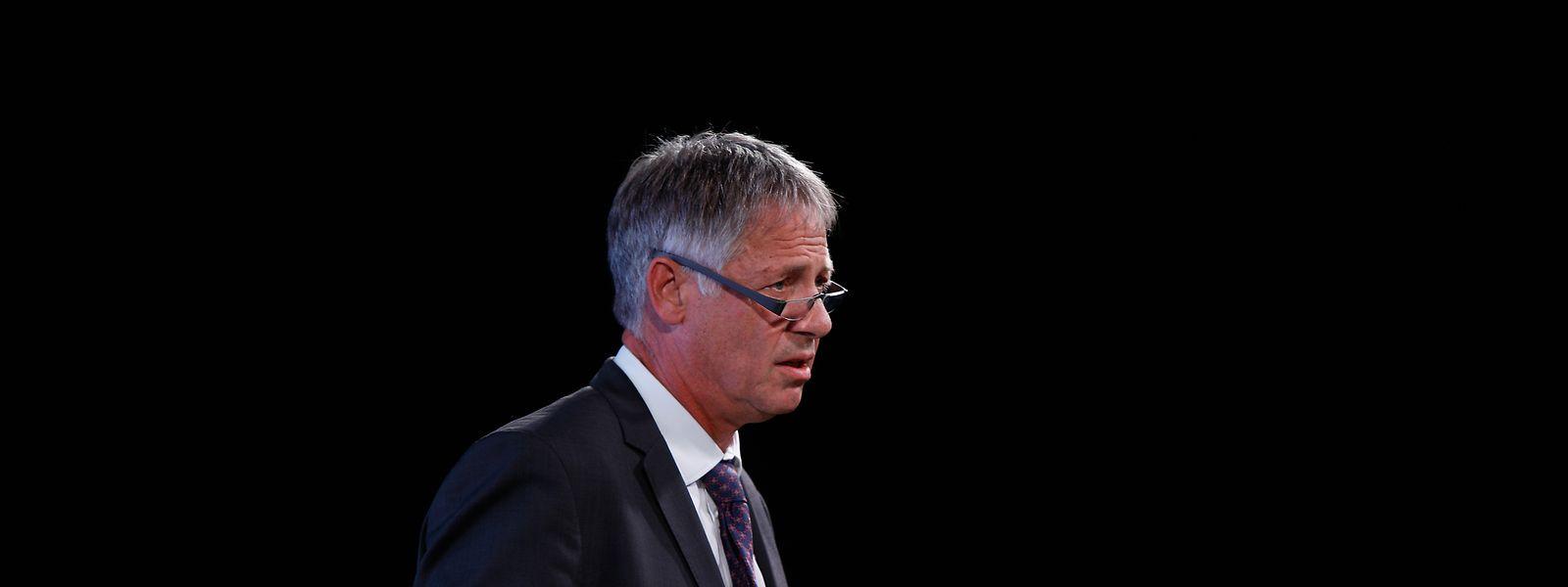 Henri Kox: erster öffentlicher Auftritt als Wohnungsbauminister