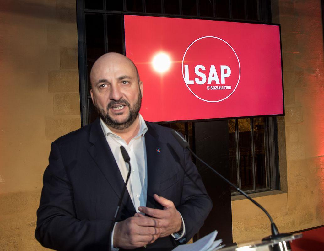 Etienne Schneider begeisterte die Parteibasis.