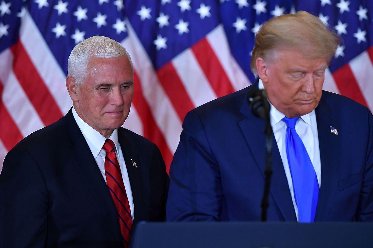 Mike Pence könnte Trump absetzen - ob er diesen Schritt macht, ist fraglich.