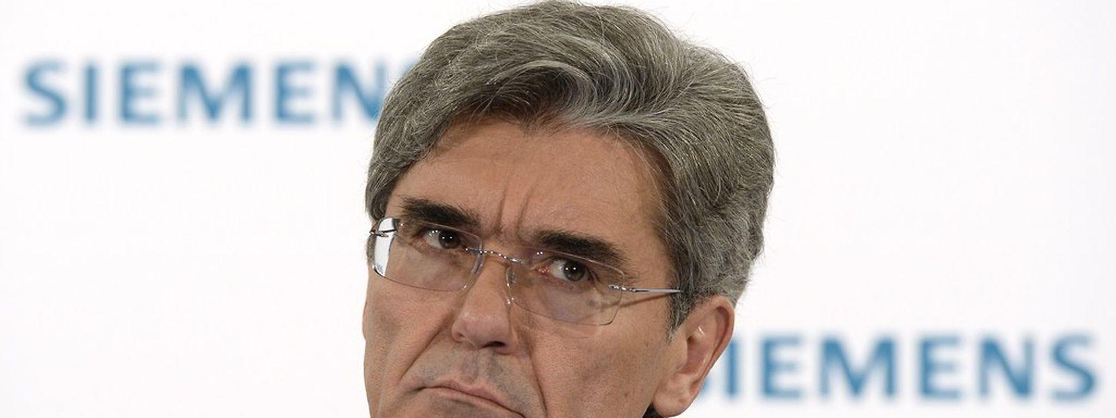 Vorstandschef Joe Kaeser hatte den größten Konzernumbau seit 25 Jahren im Mai 2014 gestartet.