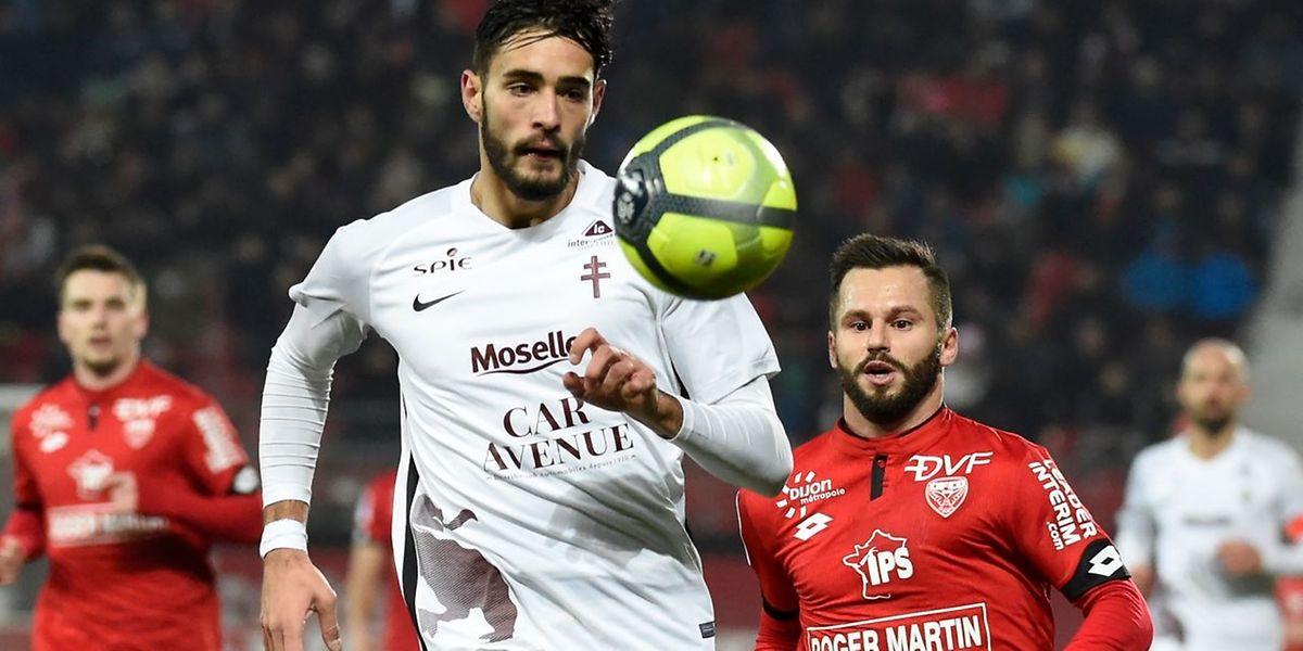 Vahid Selimovic et les Messins ont arraché un point dans les dernières minutes.