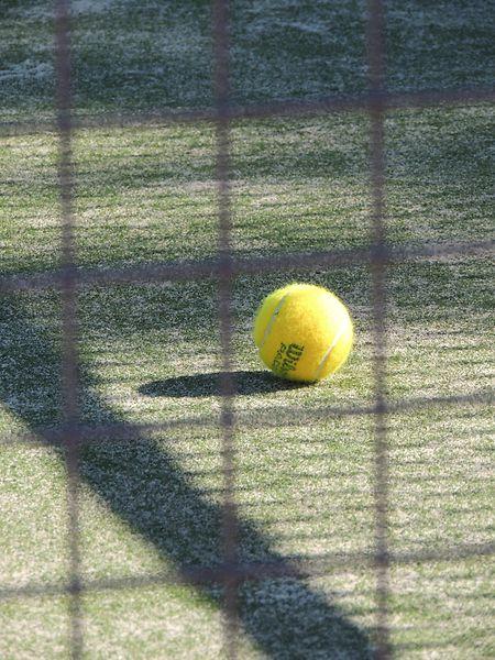 """Objeto Mistério"": bola de ténis."