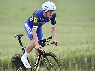 Bob Jungels (Etixx-Quick Step) - Nationale Radsport-Meisterschaften im Zeitfahren - Elite - Foto: Serge Waldbillig