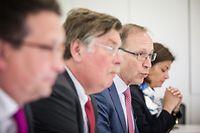 Maurice Bauer, Frank Wagener, Robert Scharfe et Julie Becker misent sur l'innovation pour défier la concurrence de plus en plus forte sur les marchés.