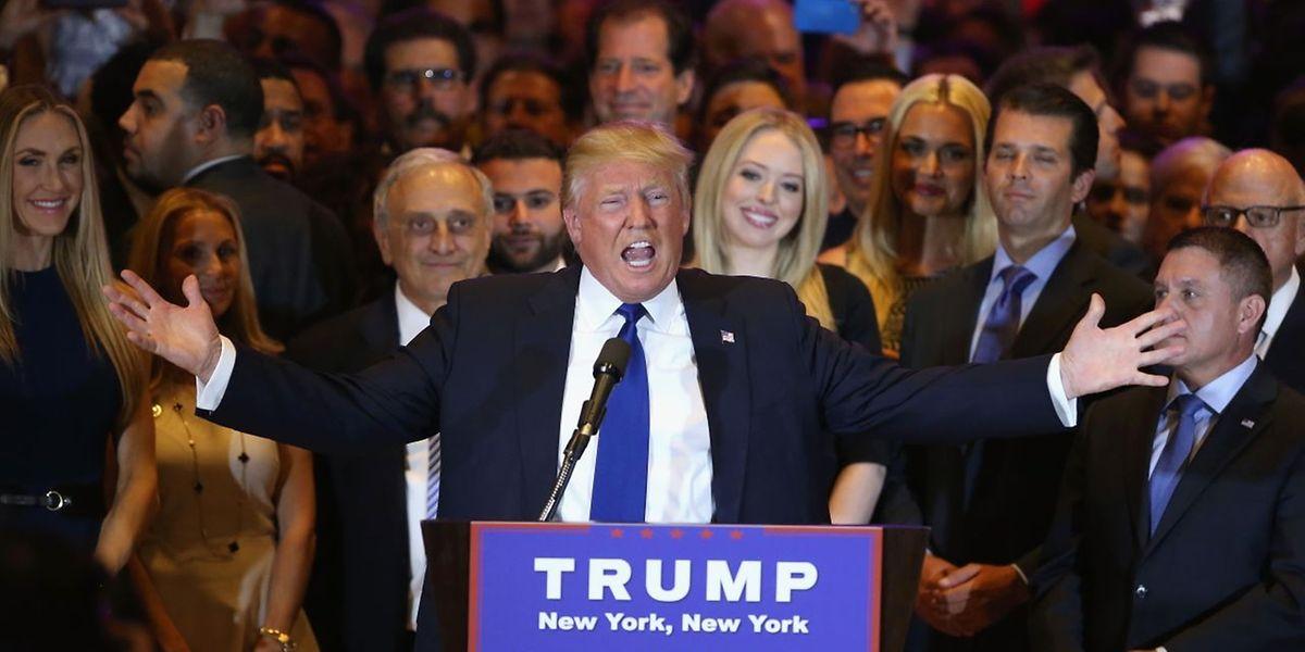 Für Donald Trump ist der Sieg ein weiterer Schritt in Richtung Kandidatur.