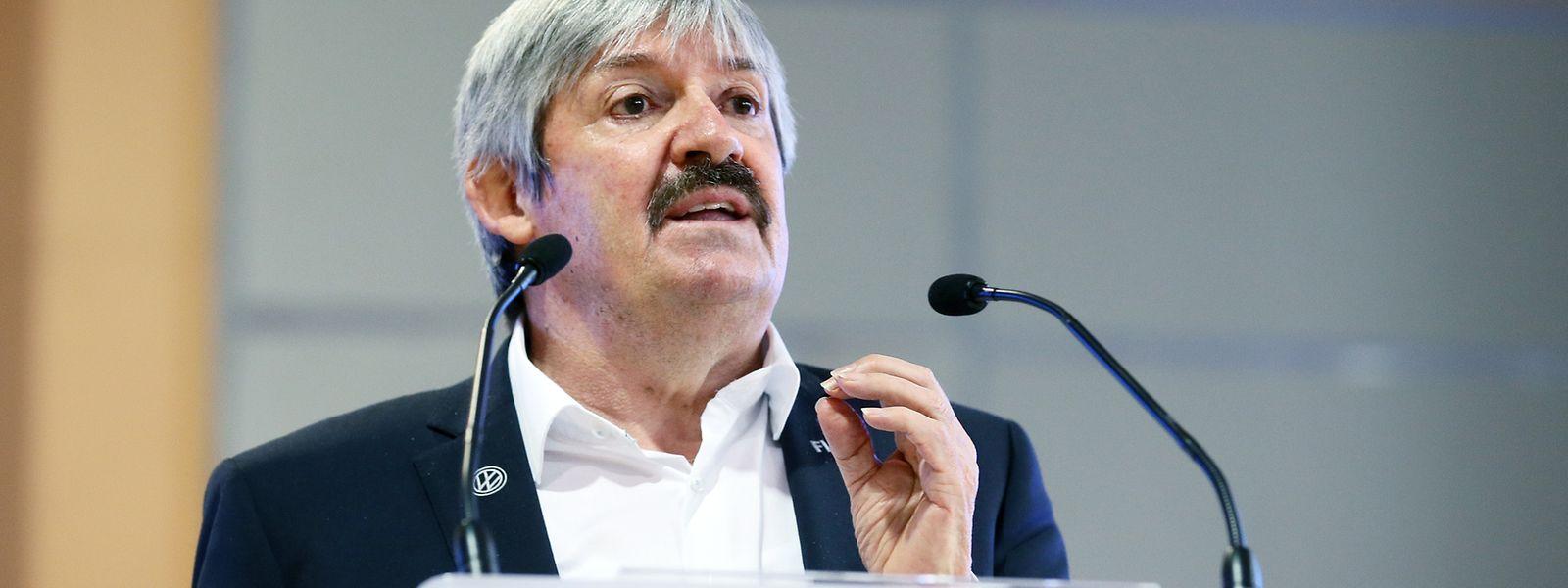 FLF-Präsident Paul Philipp will sich jedes Wochenende mindestens ein BGL-Ligue-Spiel anschauen.