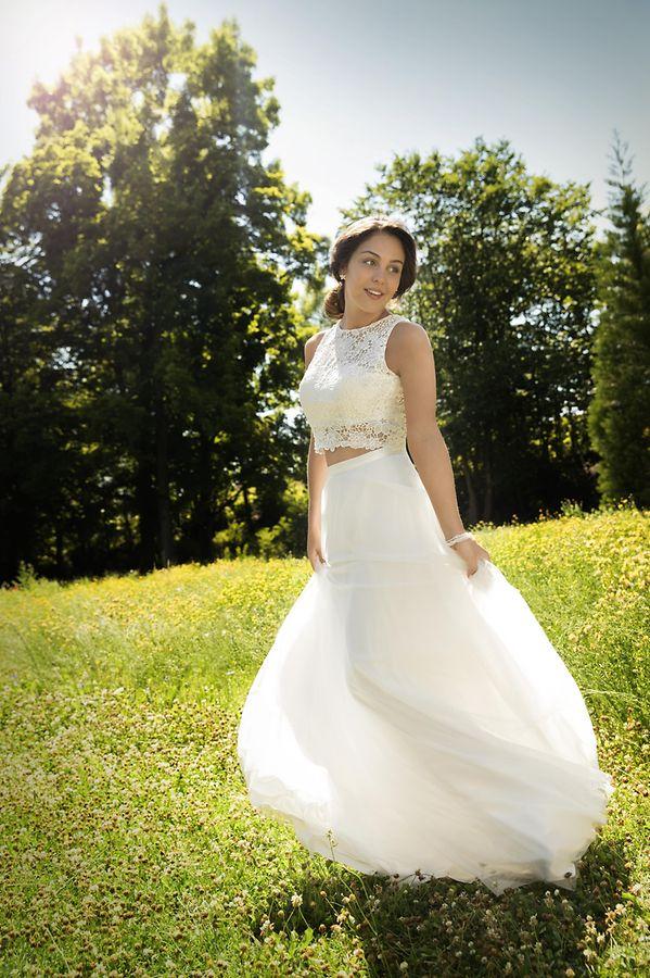 Bauchfreies Kleid von Kleemeier