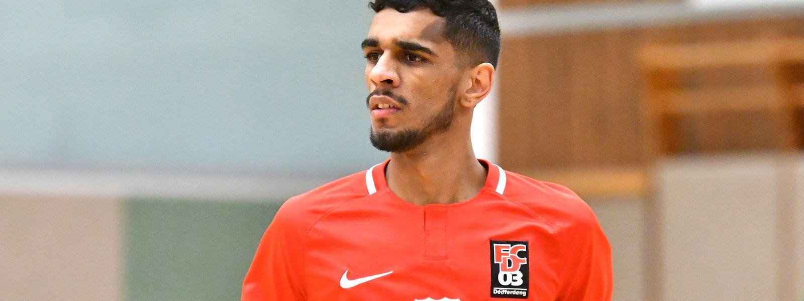Ruben Reis (FC Differdange 03) se méfie des transitions dans l'équipe du Racing