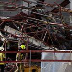 Trabalhadores portugueses desaparecidos após desabamento de escola em Antuérpia
