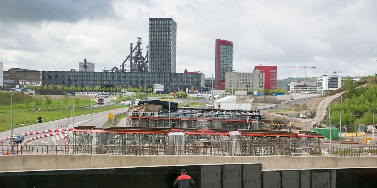 2022 soll die Autobahn direkt nach Belval führen.