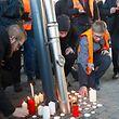 Cérémonie en hommage au conducteur décédé dans l'accident de train du 14 février