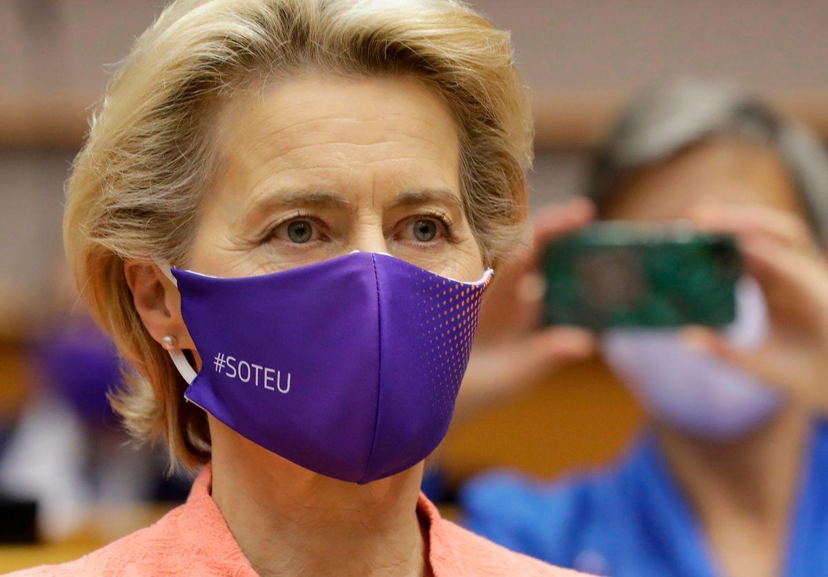 La première dame de l'exécutif européen a mis en garde Ankara contre toute tentative d'«intimidation» dans le conflit gazier qui l'oppose à la Grèce