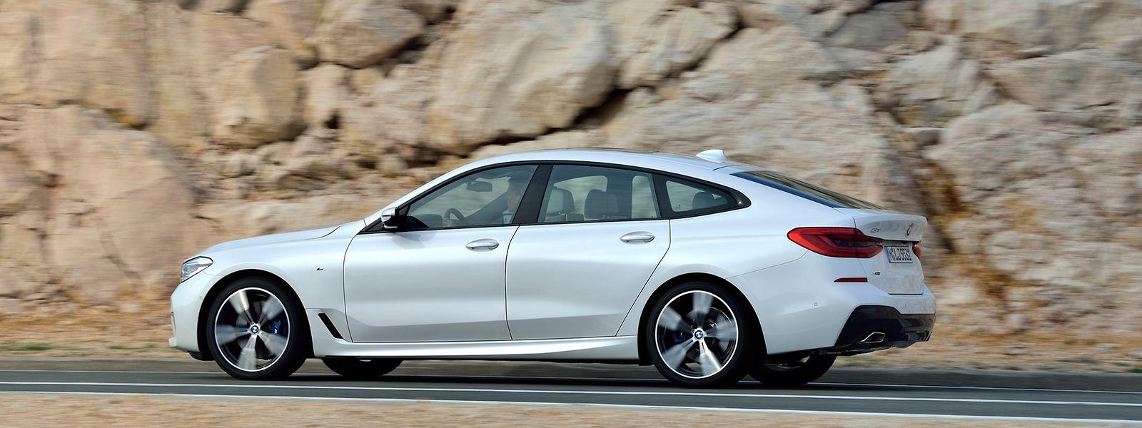 Der BMW 6er Gran Turismo wirkt trotz der fünf Meter Länge deutlich eleganter als sein Vorgänger.