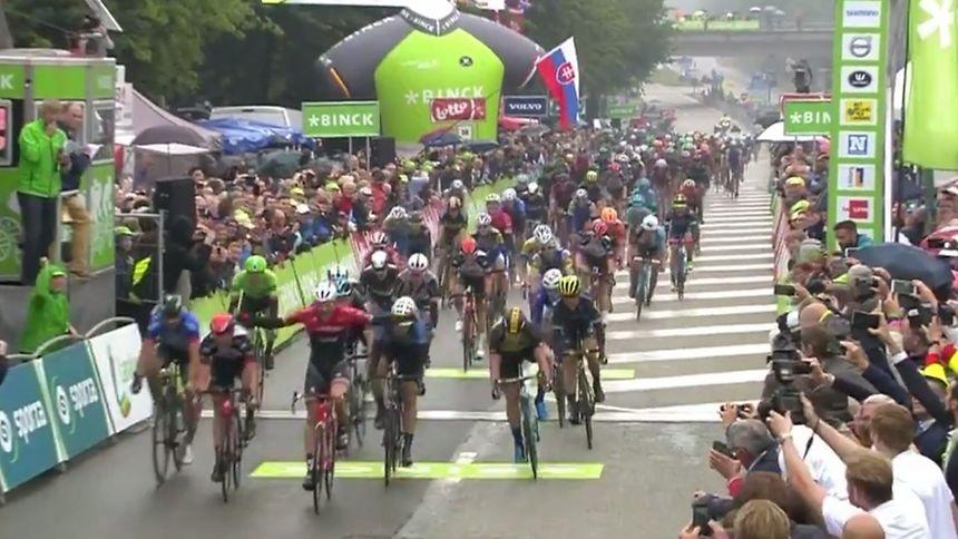 Edward Theuns vainqueur de la 4e étape — BinckBank Tour