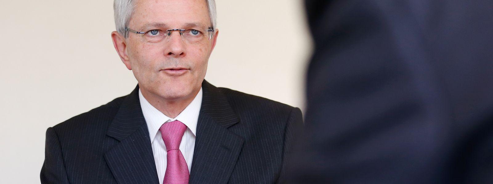 Claude Metzdorf hat im vergangenen Frühjahr die Leitung des DuPont-Werkes in Contern von Arsène Schiltz übernommen.