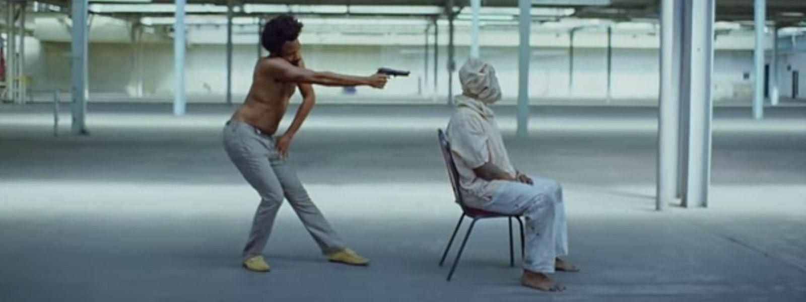 """Harte Bilder: Childish Gambino in """"This is America!"""""""