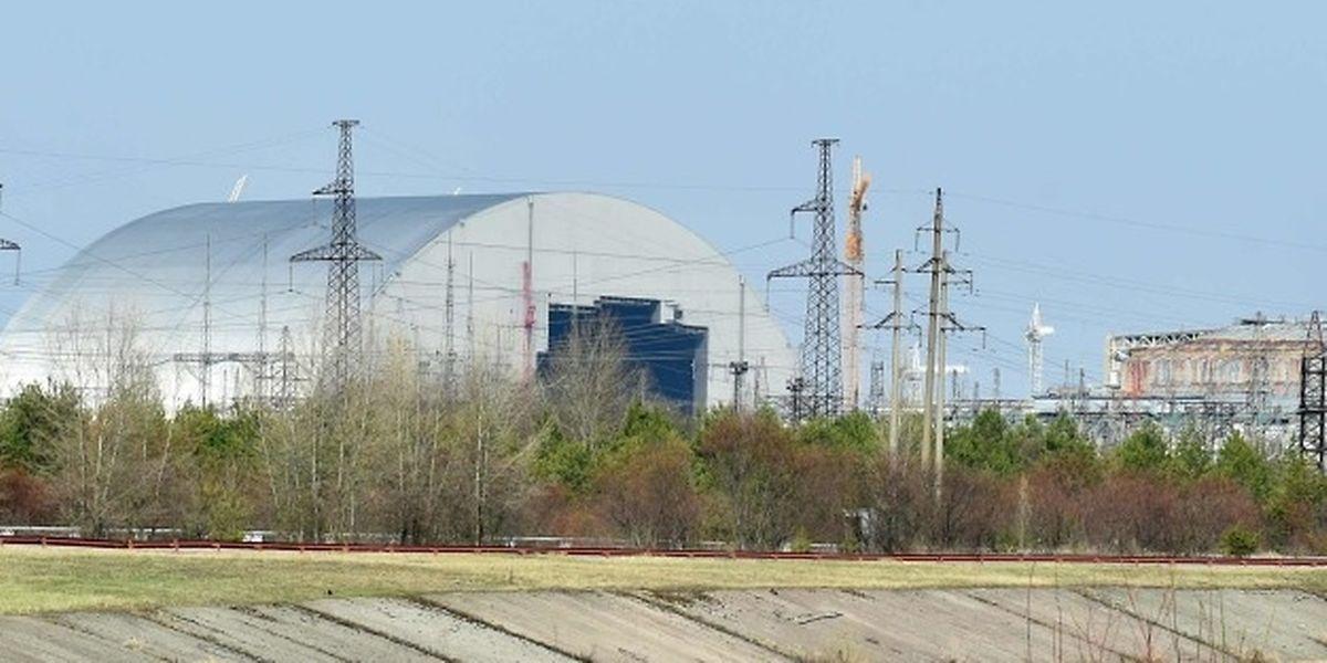 Die riesige neue Schutzhülle für die Atomruine Tschernobyl gilt als technisches Meisterwerk.