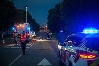 Das Opfer soll auf der Straße herumgeirrt sein. Die Fahrerin konnte demnach nicht reagieren.