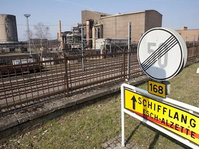 The former ArcelorMittal plant in Schifflange will give way to new homes.