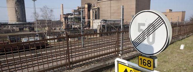 Le site d'ArcelorMittal à Schifflange.