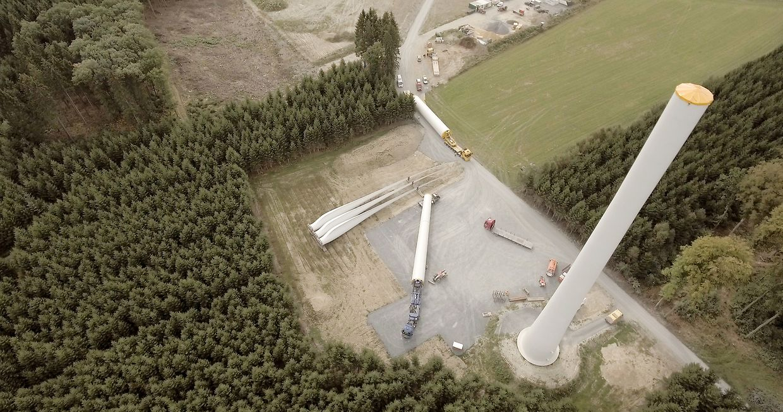 Zum Jahresende soll der Windpark Weiler ans Netz gehen.